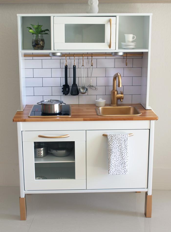 Ideeën om het ikea duktig keukentje een makeover te geven